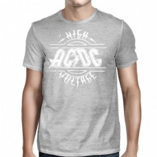 "AC/DC - ""High Voltage"" Sports Gray"