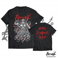 "Amon - ""Liar In Wait"" Red T-Shirt"