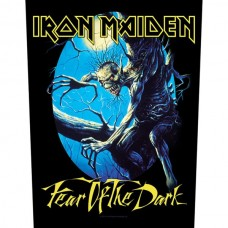 """Iron Maiden - """"Fear Of The Dark"""" Back Patch"""