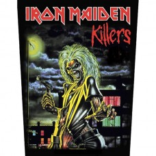 """Iron Maiden - """"Killers"""" Back Patch"""