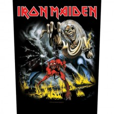 "Iron Maiden - ""Number Of The Beast"" Back Patch Bundle Pack"