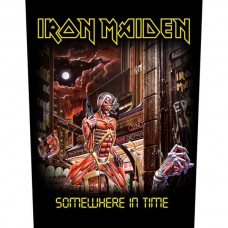 """Iron Maiden - """"Somewhere In Time"""" Back Patch"""