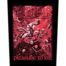 "Kreator - ""Pleasure To Kill"" Back Patch"