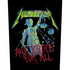 "Metallica - ""...And Justice For All"" Back Patch"