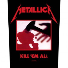 "Metallica - ""Kill 'em All"" Back Patch"