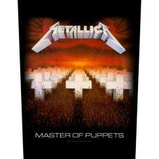"Metallica - ""Master Of Puppets"" Back Patch"