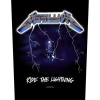 "Metallica - ""Ride The Lightning"" Back Patch Bundle Pack"