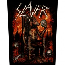 "Slayer - ""Devil On Throne"" Back Patch"