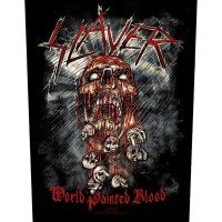 "Slayer - ""World Painted Blood"" Back Patch Bundle"