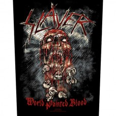 "Slayer - ""World Painted Blood"" Back Patch"