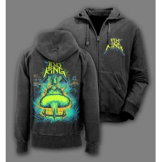 "Lich King - ""Born Of The Bomb"" Zip Hoodie"