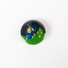 "Lich King - ""Super Retro Thrash"" Button"