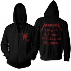 "Metallica - ""No Regrets"" Zip Hoodie"
