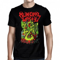 "Municipal Waste - ""Nailed Casket"""