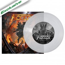 """Accept - """"The Rise Of Chaos"""" 7"""" Clear Vinyl"""