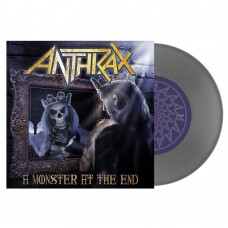 """Anthrax - """"A Monster At The End"""" 7"""" Silver Vinyl"""