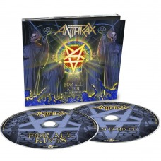 """Anthrax - """"For All Kings"""" Tour Edition 2 CD-Digi"""