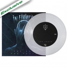 """In Flames - """"The End/The Truth"""" 7"""" Clear Vinyl"""