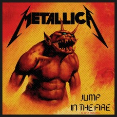 "Metallica - ""Jump In The Fire"" Patch"