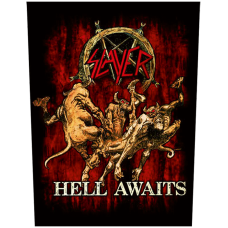 "Slayer - ""Hell Awaits"" Back Patch"