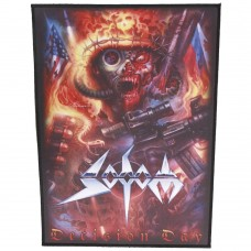 """Sodom - """"Decision Day"""" Back Patch"""