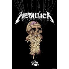 "Metallica - ""One"" Textile Poster Flag"