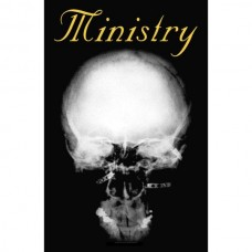 """Ministry - """"The Mind Is A Terrible Thing To Taste"""" Textile Poster Flag"""