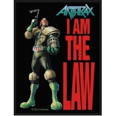 "Anthrax - ""I Am The Law"" Patch"
