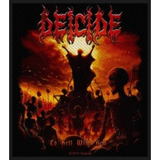 "Deicide - ""To Hell With God"" Patch"