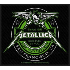 "Metallica - ""Beer Label"" Patch"