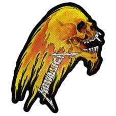 "Metallica - ""Flaming Skull"" Patch"